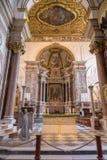 Altare principale della cattedrale di Amalfi Fotografia Stock