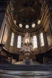 Altare principale della cattedrale di Napoli Fotografia Stock Libera da Diritti