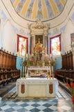 Altare principale della cattedrale di San Bartolomeo in Lipari Fotografie Stock