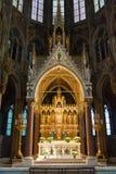 Altare principale della chiesa votiva Fotografie Stock