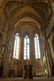 Altare principale della st Sebalduskirche a Norimberga Immagine Stock