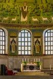 altare a Ravenna Fotografia Stock Libera da Diritti