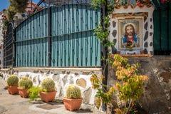 Altare religioso delle isole Canarie Fotografia Stock