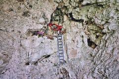 Altare religioso nel Chiapas Immagini Stock Libere da Diritti