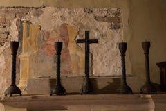 Altare, San Zeno, Verona, Italia Fotografia Stock