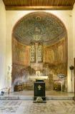 Altare Santa Maria Cosmedin Immagini Stock