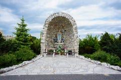 Altare santo di Maria Fotografia Stock