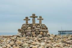 Altare simbolico di Pasqua della pietra Immagini Stock Libere da Diritti