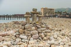 Altare simbolico di Pasqua della pietra Fotografia Stock