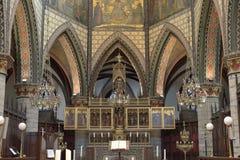 Altare in Sint-Bartholomeuskerk Fotografia Stock Libera da Diritti