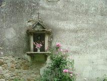 altare som preeching Arkivfoto
