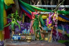Altare sull'isola di Koh Kret Immagini Stock Libere da Diritti