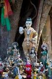 Altare sull'isola di Koh Kret Immagine Stock