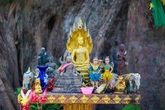 Altare sull'isola di Koh Kret Fotografia Stock Libera da Diritti