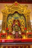 Altare in tempio cinese in Kuala Lumpur Fotografia Stock Libera da Diritti