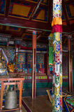 Altare in tempio di Ariyabal Fotografia Stock
