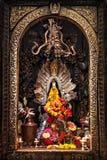Altare in tempio indù Immagini Stock Libere da Diritti
