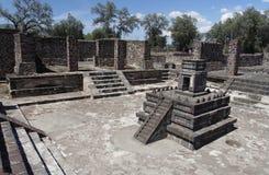 altare teotihuacan mexico Arkivbild