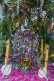 Altare tropicale rustico al vergine Fotografie Stock Libere da Diritti