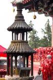 Altare vicino al tempio di Xiangshan sulla collina orientale Fotografie Stock