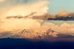 Altare Volcano In Ecuador di EL Immagini Stock Libere da Diritti