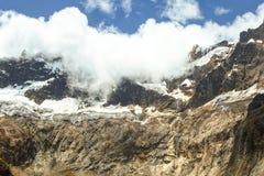Altare Volcano Glacier di EL Immagini Stock Libere da Diritti
