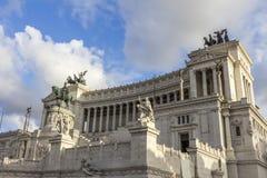 Altaredella Patria Rome Royalty-vrije Stock Foto