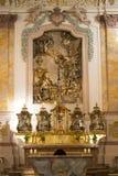 Altareförklaring i St. i Munich arkivbild