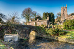 Altarnun on Bodmin Moor in Cornwall Stock Image