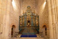 Altarpiece στον καθεδρικό ναό Plasencia, Caceres Στοκ φωτογραφία με δικαίωμα ελεύθερης χρήσης