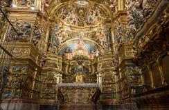 Altarpiece девственницы Colls San Lorenzo de Morunys стоковые фотографии rf