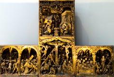 Altarpiece Труа стоковое изображение
