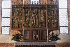 altarpiece Fotografie Stock