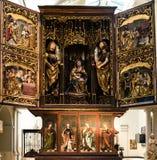Altarpiece Brixen стоковые изображения rf
