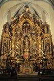 Altarpiece in Cadaques Fotografia Stock