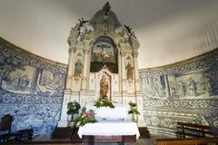 Altarpiece of the Chapel of Good Help Stock Photos