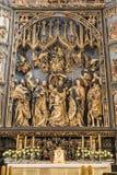 Altarpiece de Veit Stoss Imagen de archivo