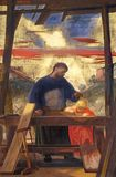 Altarpiece St Joseph работник в di San Lorenzo базилики во Флоренс стоковое фото