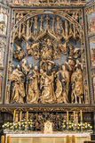 Altarpiece of Veit Stoss stock image