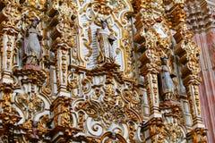 Altarpiece at virgen del carmen church III Stock Photo