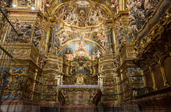 Altarpiece of the Virgin Colls San Lorenzo de Morunys Royalty Free Stock Photos