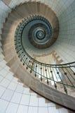 Altas escaleras del faro Fotografía de archivo