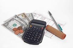 Altas finanzas Foto de archivo libre de regalías