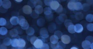 Altas fondos abstractos borrosos del bokeh de la definición luces almacen de metraje de vídeo
