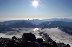 Altas montañas fotos de archivo