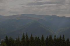 Altas montañas imagenes de archivo
