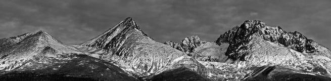 Altas montañas de los tatras Imágenes de archivo libres de regalías