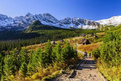 Altas montañas de Tatra Fotos de archivo libres de regalías