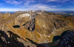 Altas montañas de Tatra Imagen de archivo