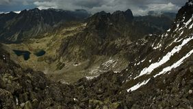 Altas montañas de Tatra eslovacas Fotos de archivo